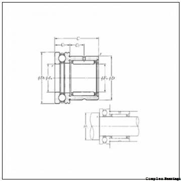 ISO NAX 4532 complex bearings
