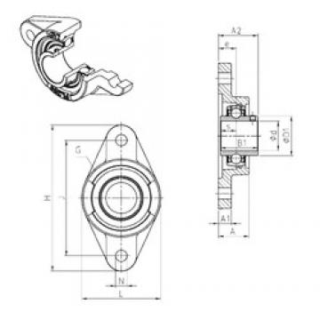 SNR UCFL202 bearing units