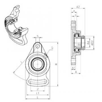 SNR ESFA209 bearing units
