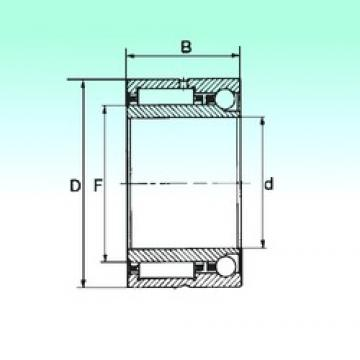 60 mm x 85 mm x 34 mm  NBS NKIA 5912 complex bearings