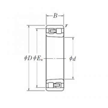 55 mm x 90 mm x 26 mm  NSK NN 3011 K cylindrical roller bearings