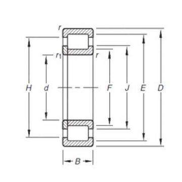 35 mm x 72 mm x 23 mm  Timken NUP2207E.TVP cylindrical roller bearings