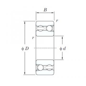 12 mm x 32 mm x 14 mm  KOYO 4201 deep groove ball bearings
