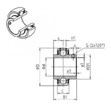 SNR UC310-30 deep groove ball bearings