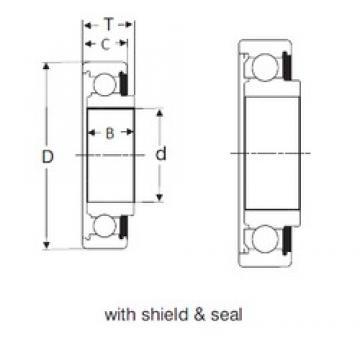 30 mm x 62 mm x 19 mm  SIGMA 87506 deep groove ball bearings