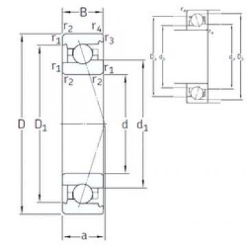 35 mm x 62 mm x 14 mm  SNFA VEX 35 /NS 7CE1 angular contact ball bearings