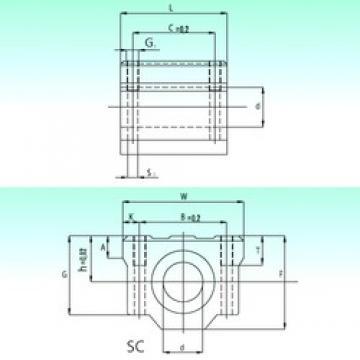 NBS SC 50-UU AS linear bearings