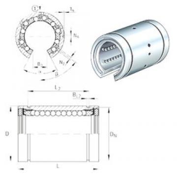 INA KBO40 linear bearings