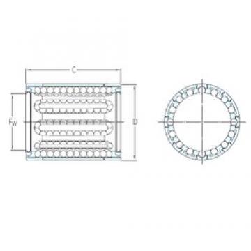 SKF LBBR 8/HV6 linear bearings