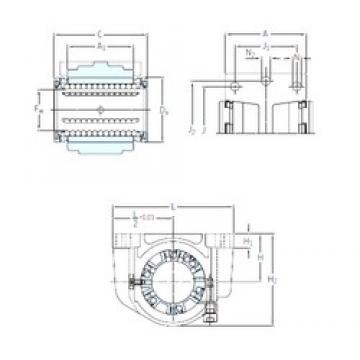 SKF LUCS 8 linear bearings