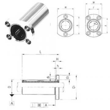 Samick LMH8LUU linear bearings