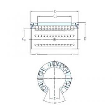 SKF LBCT 20 A linear bearings