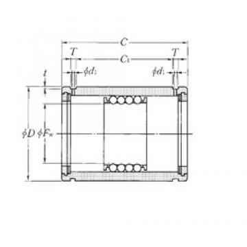 NTN KD304565 linear bearings