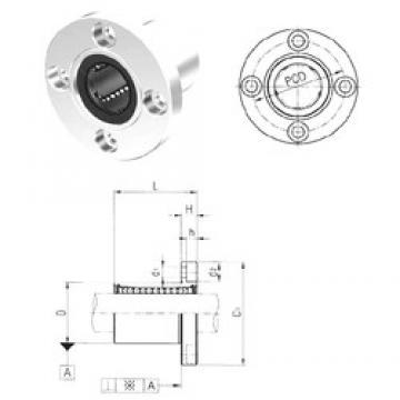 Samick LMF16UU linear bearings