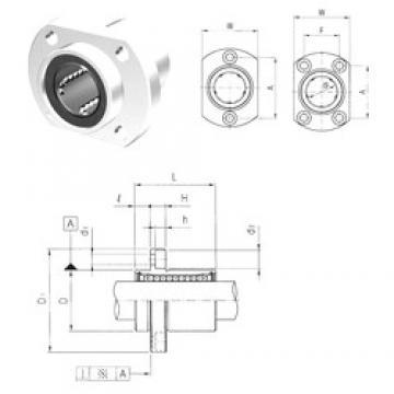 Samick LMHP30UU linear bearings