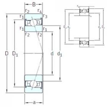 65 mm x 90 mm x 13 mm  SNFA HB65 /S/NS 7CE1 angular contact ball bearings