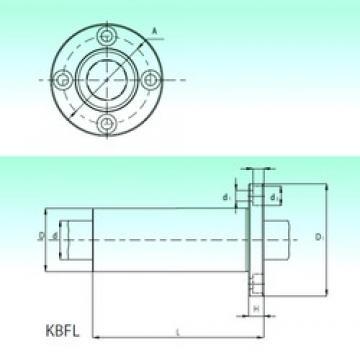 NBS KBFL 16 linear bearings