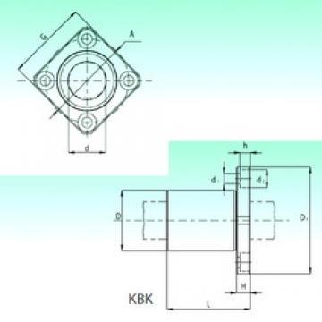 NBS KBK 12 linear bearings