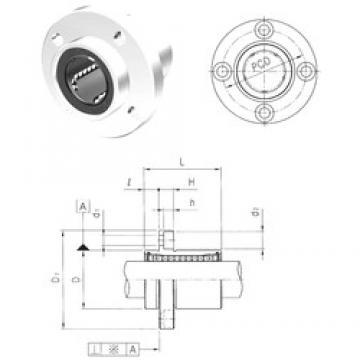 Samick LMEFP20UU linear bearings