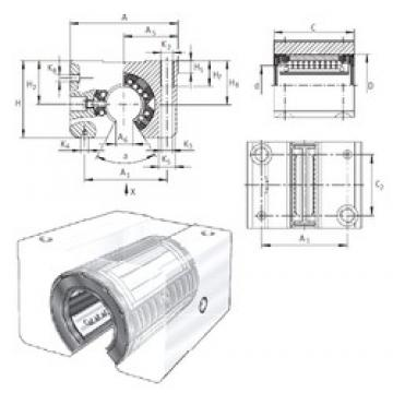 INA KGSNO50-PP-AS linear bearings