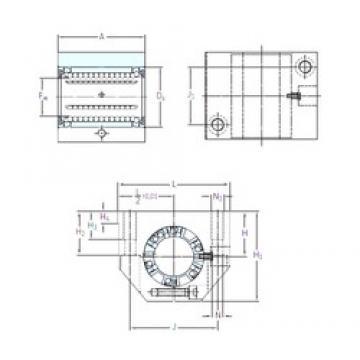 SKF LUNE 30-2LS linear bearings