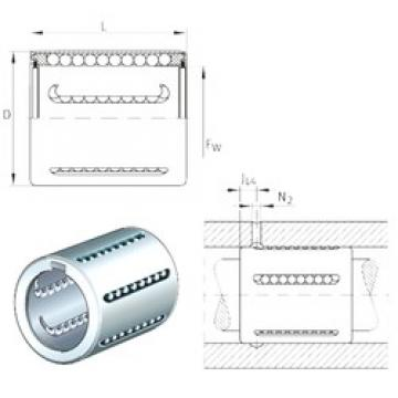 INA KH20-PP linear bearings