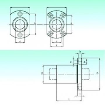 NBS KBH 25 linear bearings