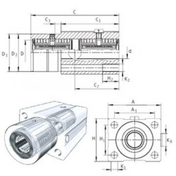 INA KTFS30-PP-AS linear bearings