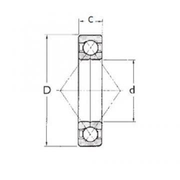 60 mm x 130 mm x 31 mm  FBJ QJ312 angular contact ball bearings