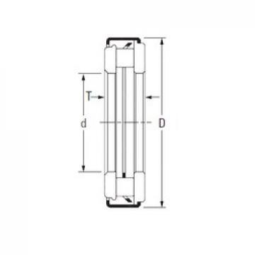 Timken ARZ 12 50 71 needle roller bearings