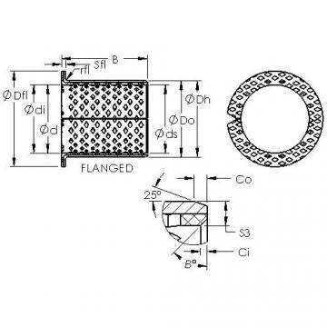 AST ASTB90 F5550 plain bearings