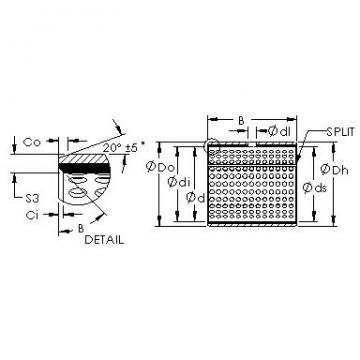 AST AST20 44IB48 plain bearings