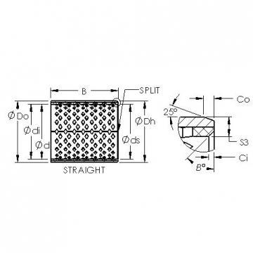 AST AST090 17060 plain bearings