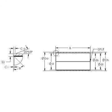 AST AST850BM 8040 plain bearings
