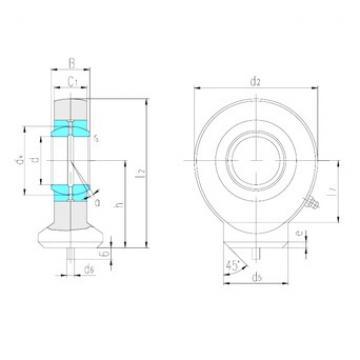 LS SK30ES plain bearings