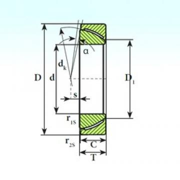 ISB GAC 25 CP plain bearings