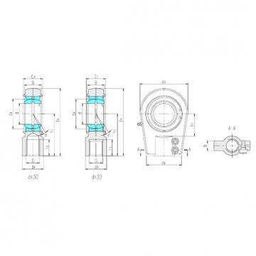 LS SIA25ES plain bearings
