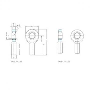 SKF SA50TXE-2LS plain bearings