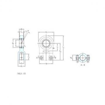 SKF SILJ60ES plain bearings