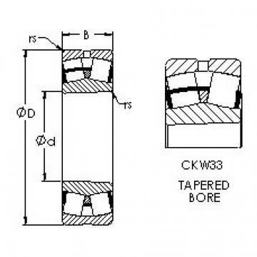 AST 22236CKW33 spherical roller bearings