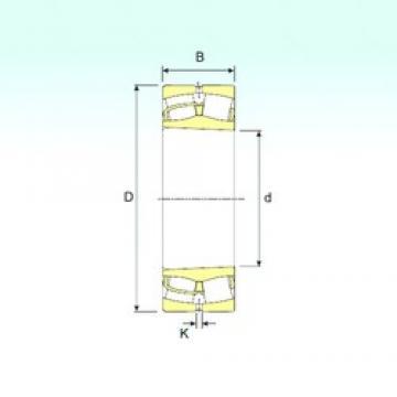 220 mm x 340 mm x 118 mm  ISB 24044 K30 spherical roller bearings