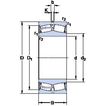 100 mm x 150 mm x 50 mm  SKF 24020-2RS5/VT143 spherical roller bearings