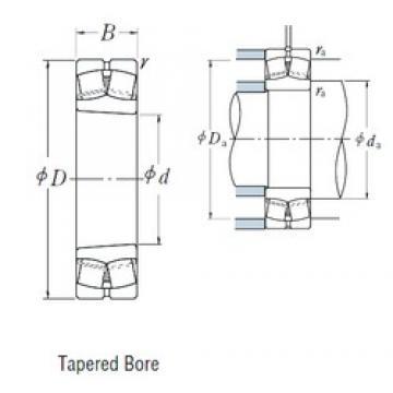 80 mm x 170 mm x 39 mm  NSK 21316EAKE4 spherical roller bearings