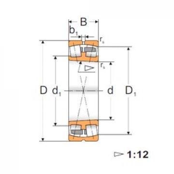 120 mm x 180 mm x 46 mm  FBJ 23024K spherical roller bearings