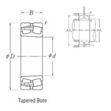 380 mm x 620 mm x 243 mm  NSK 24176CAK30E4 spherical roller bearings