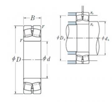 75 mm x 130 mm x 31 mm  NSK 22215EAE4 spherical roller bearings