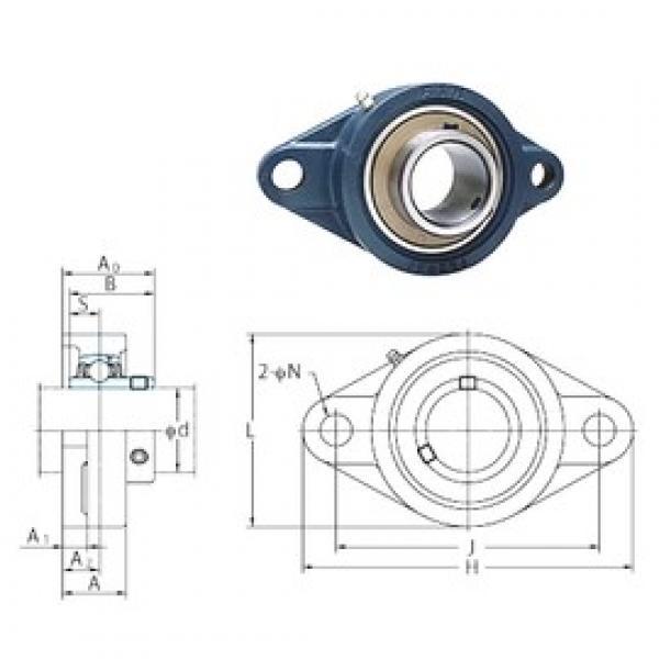 FYH UCFL209-26 bearing units #3 image