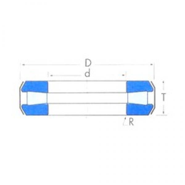 Timken T189 thrust roller bearings #3 image