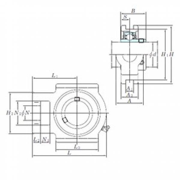 KOYO UCTX07-23E bearing units #3 image
