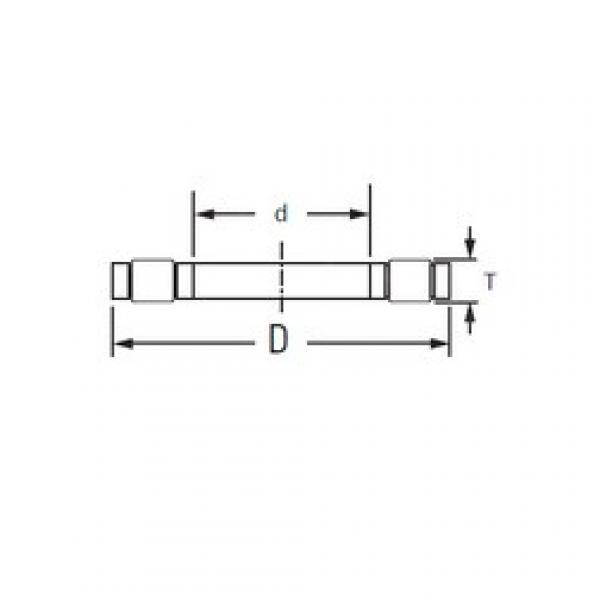 Timken K.81105TVP thrust roller bearings #3 image